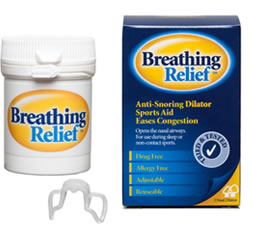 Breathing Relief Nasal Dilator
